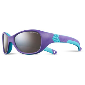 Julbo Solan Spectron 4 Sunglasses Kids 4-6Y Purple/Turquoise-Gray Flash Silver